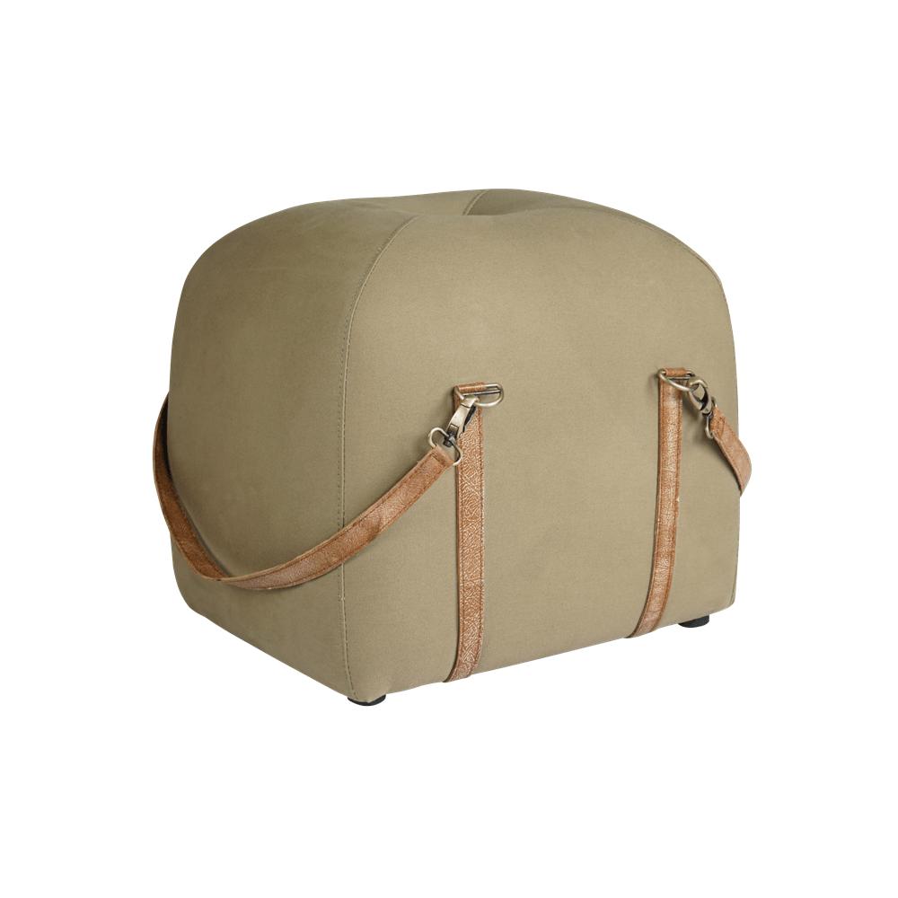 Пуф Travel Bag Linen Fabric в спальню