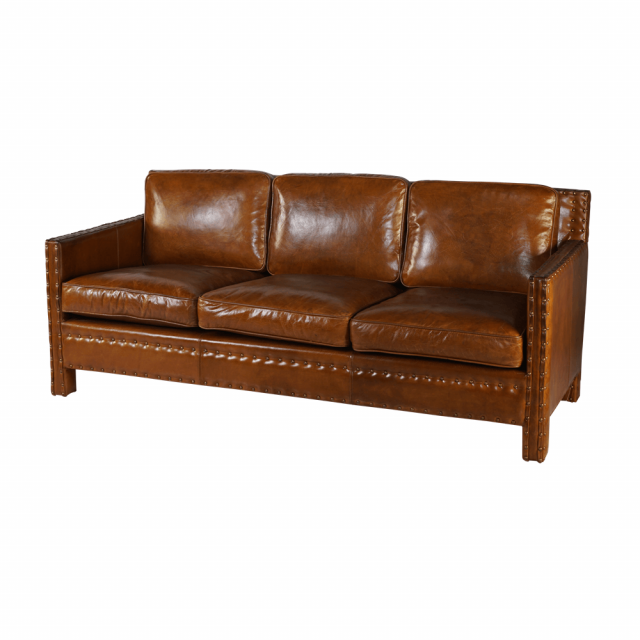 Трехместный диван Parlamet 3 Seats (коровья кожа)