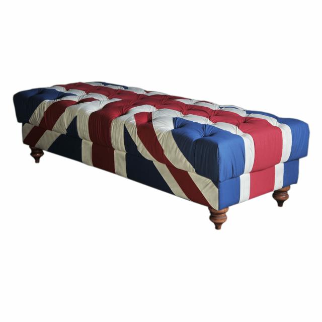 Банкетка Britain Long Fabric Base