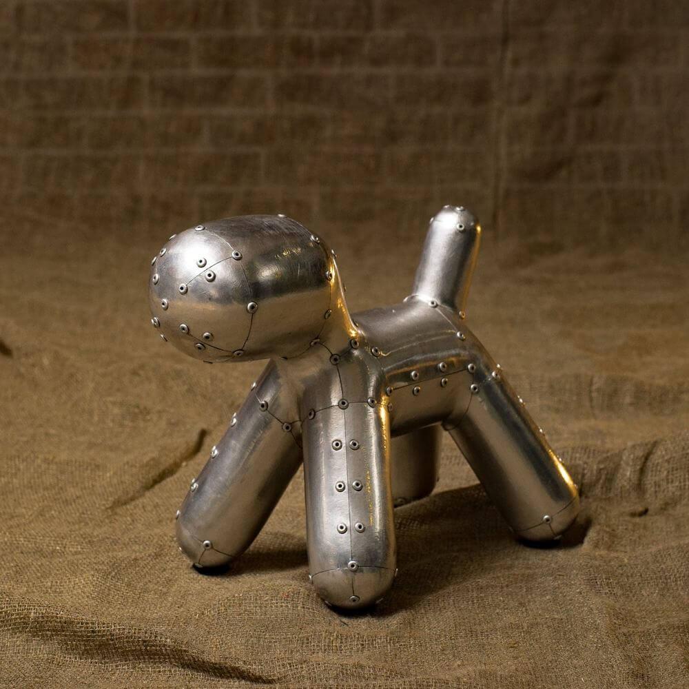 Декоративная фигура Aluminum Dog Interior Decor