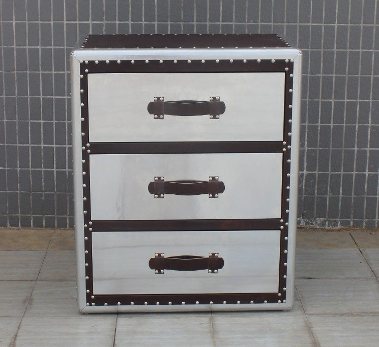 Тумба Dresser Mirror (Winchester) 3 Drawers with Inserts