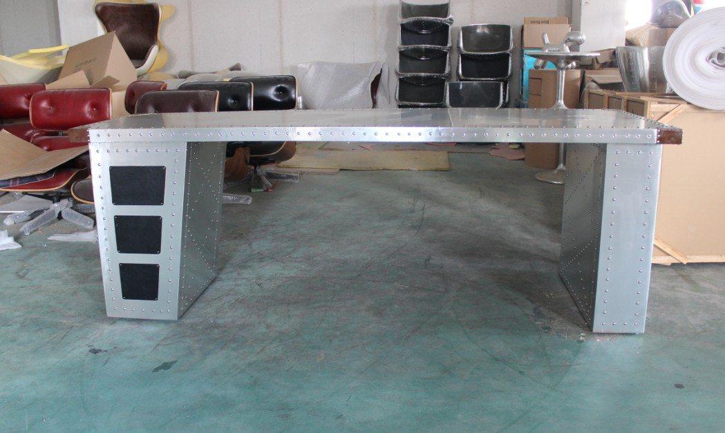 Письменный стол Silver Wing 2 Aluminum Rectangular