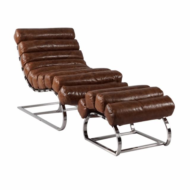 Кресло-шезлонг и оттоманка Odysseus Lounge Chair