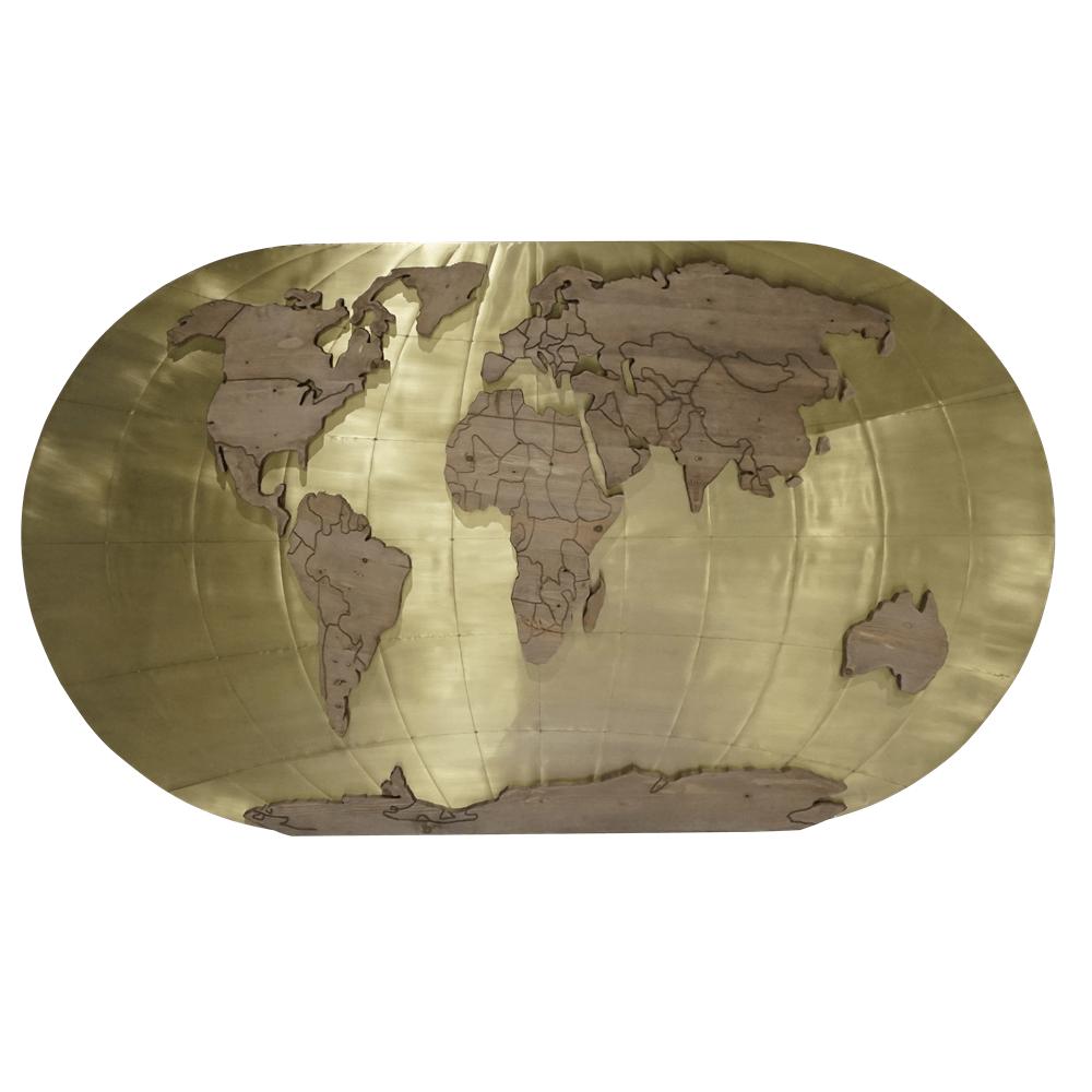 Карта World Map Interior Accessory