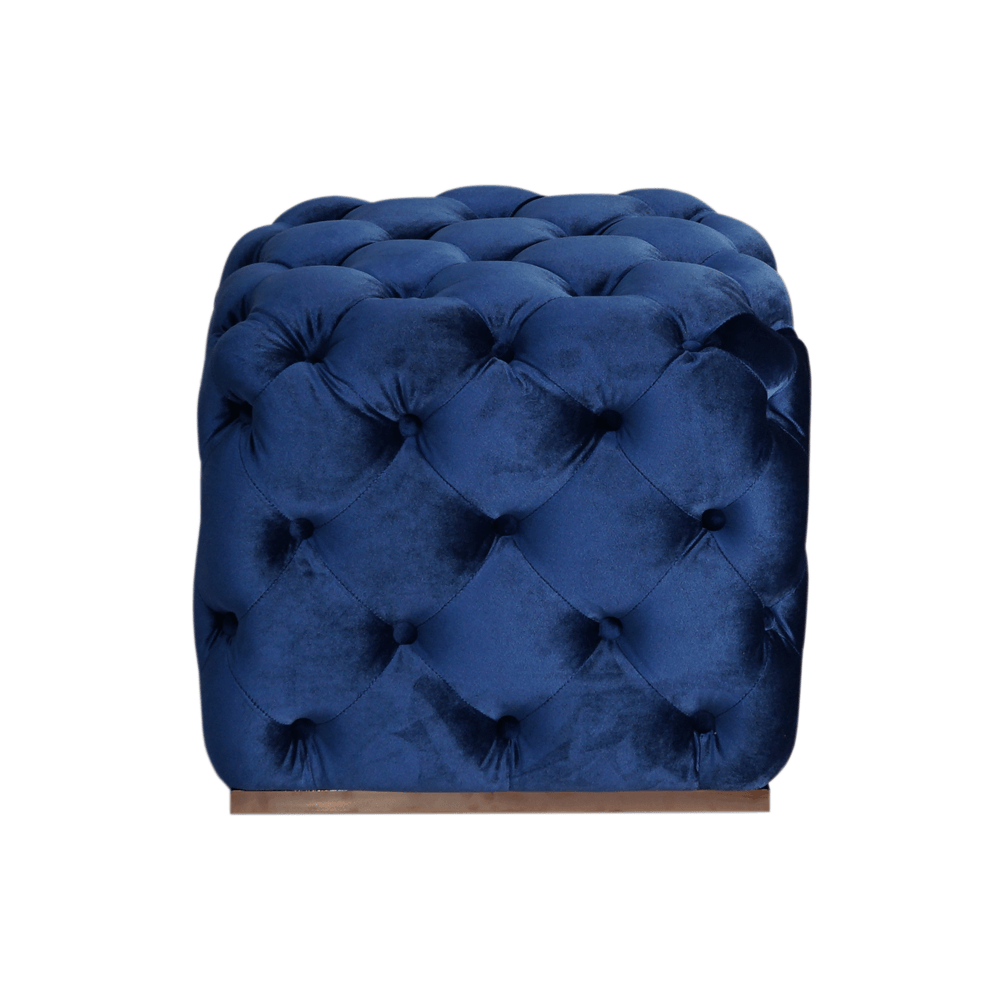 Пуф Chesterfield Velvet Ottoman Cube