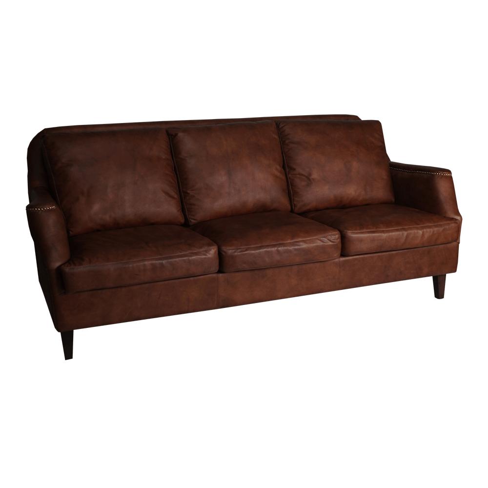 Трехместный диван Tudor Sofa 3 Seats в лофт