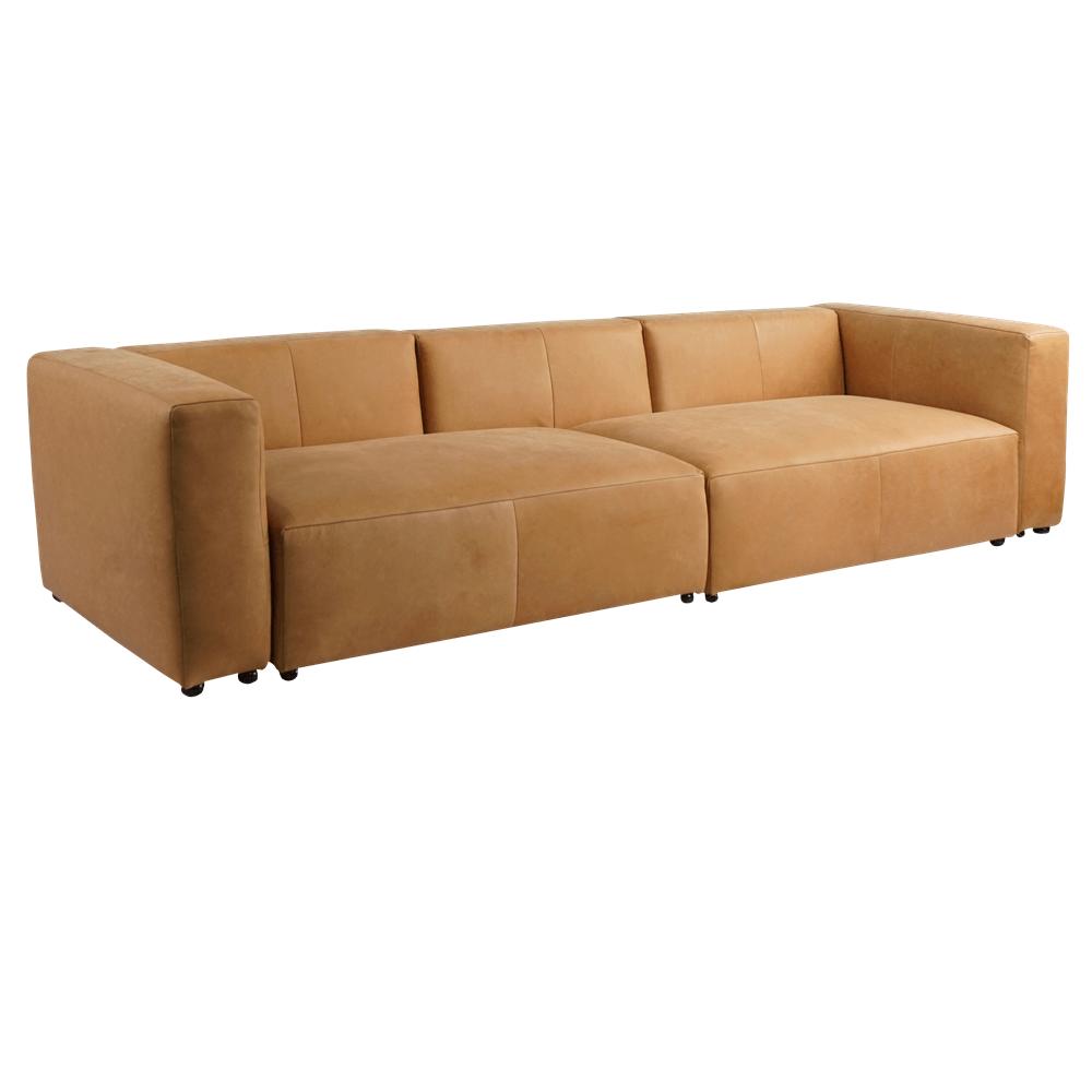 Трехместный диван Ground Sofa в лофт
