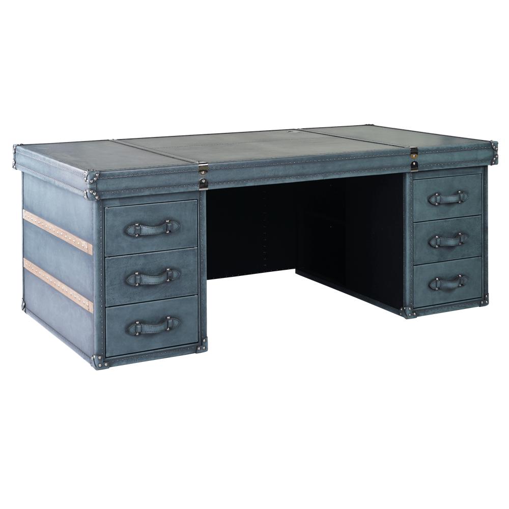 Письменный стол Alaska Wood Belts в loft-стиле