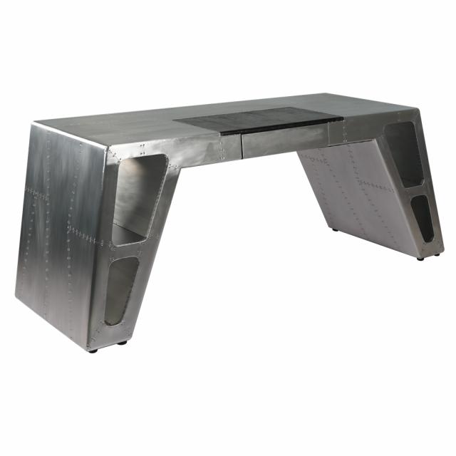 письменный стол Gothic Brass Steel в стиле лофт