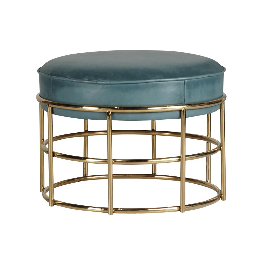 Банкетка столик Antique Orion Gold