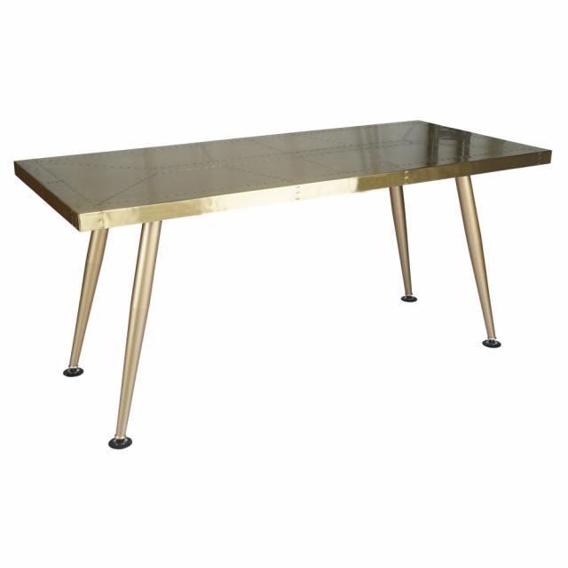 Стол Eureka Metal and Brass220 в стиле лофт