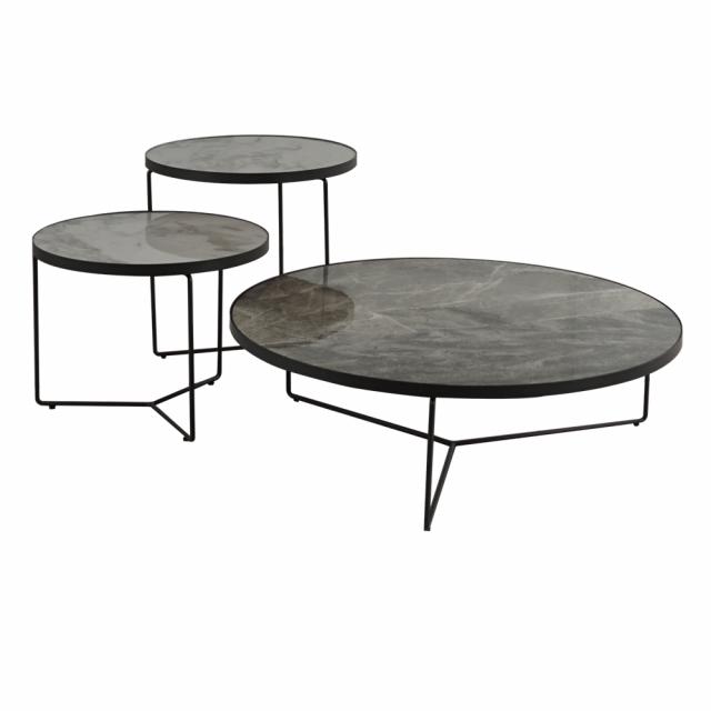 Кофейный столик Ceramic Circle Iron