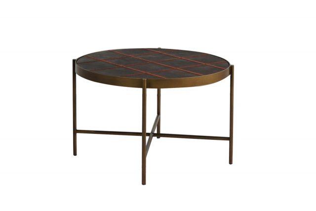 Кофейный столик Gong Wide Leather