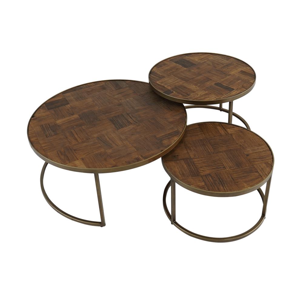 Кофейный столик Triple Round Medium