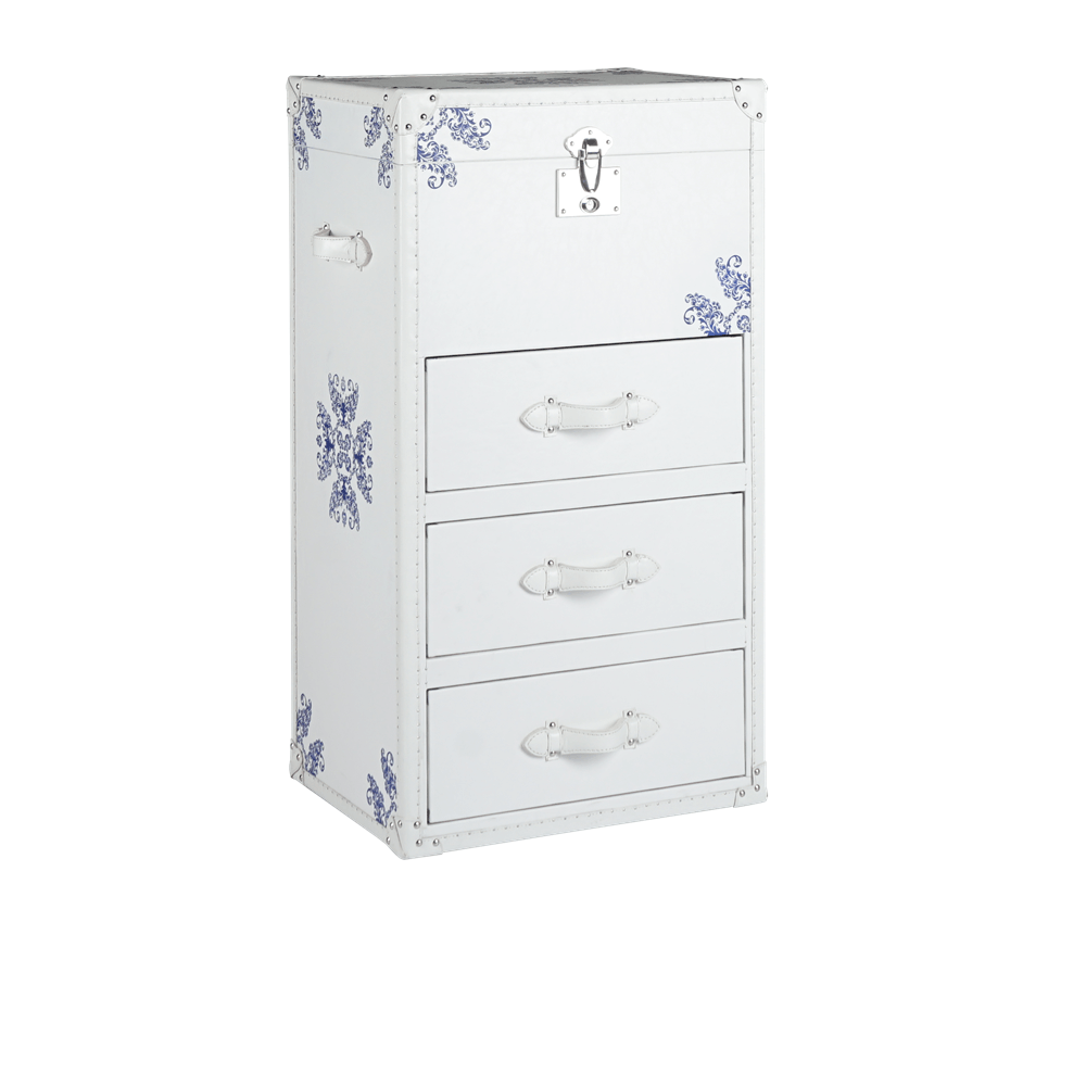 Лофт-тумба Donna White Bedside Table