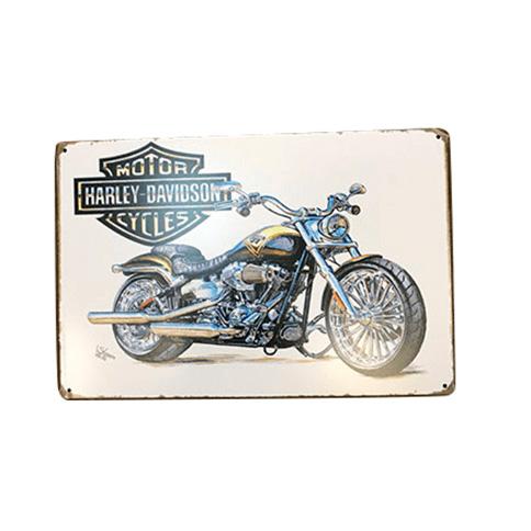 Декоративная рамка на стену Harley Davidson