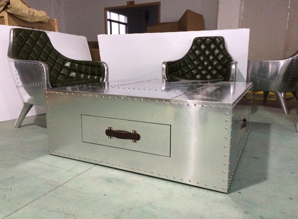 Стол Rectangle2 Slab Desk Spitfire