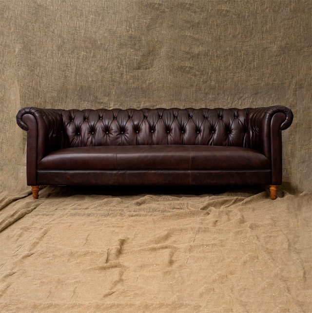 Трехместный диван Dark Lily 3 Seats