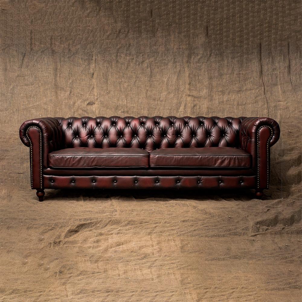 Трехместный диван Steampunk Brass Carnationsr