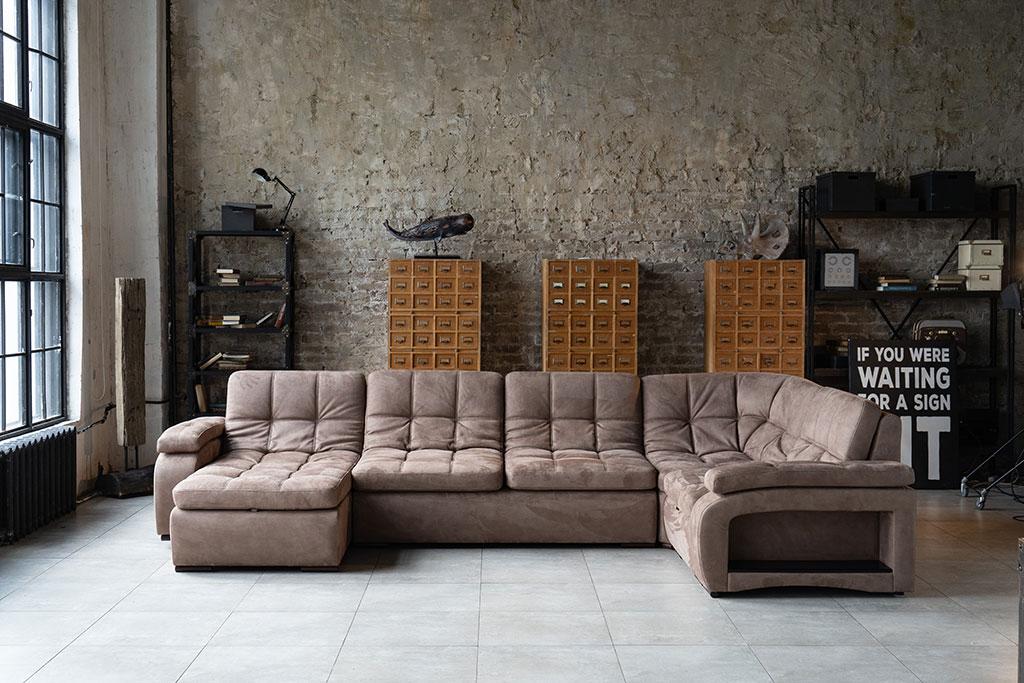 Современный угловой диван Verona Sofa